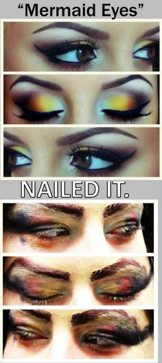 Mermaid Eyes: Nailed it!
