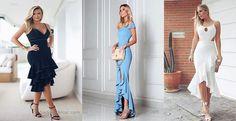 Fırfırlı Elbise Modelleri Son Moda ve Şık Tasarım Elbiseler
