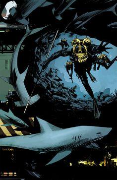 Interview: Scott Snyder and Sean Murphy talk THE WAKE - Comic Vine