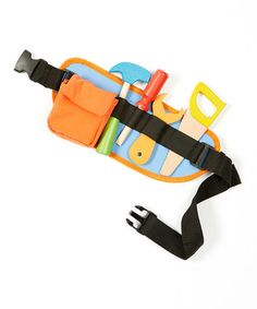Wooden Tool Belt Set by Wise Owl Toys. 40% off retail. #montessori