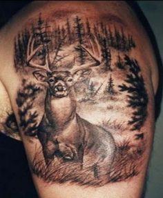 Deer Tattoos For Men And Women