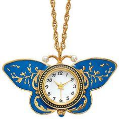 The Met Store - Papillon Reversible Pendant Watch