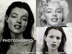 Fake - Circulating as a young Marilyn Monroe - It's a Kate Moss/Marilyn Monroe mash up. Kate Moss, Marilyn Quotes, Young Marilyn Monroe, Fake Images, Fake Photo, Norma Jeane, Why People, Photo Quotes, Everyone Knows