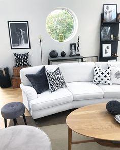 In Diesem Einzigartigen Wohnzimmer Stimmt Einfach Jedes Detail.  Sandinavisches Interior In Den