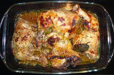 Κάτι... μαγειρεύω: ΚΟΤΟΠΟΥΛΟ ΣΤΟ ΦΟΥΡΝΟ ΜΕ ΜΟΥΣΤΑΡΔΑ ΚΑΙ ΜΕΛΙ