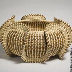Amazing South Carolina sweet grass basket.