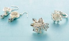 All Things Paper: Quilled Silver Jewelry - Art Clay Silver Paper Typ...