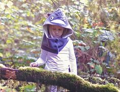 Totoro Hood DIY, with Free Pattern