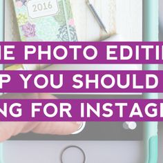 The Photo Editing App You Should Be Using for Instagram