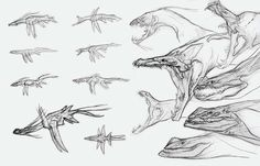 creature design sketches - Google Search