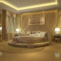 Master bedroom, part of the Luxury penthouse
