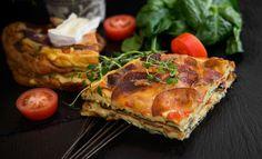 Frittata on munakkaan italialainen serkku. Frittata, Deli, Pork, Turkey, Chicken, Cooking, Easy, Drink