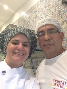 Eu e meu sur chef! Cristal Hotel