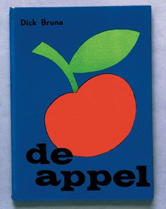 Dick Bruna — The Apple, Brunas first published book (1953)