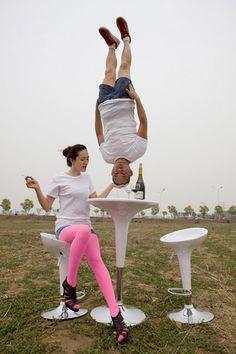 Li Wei: Acrobatic Photography