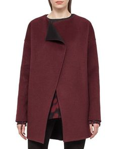 Designer Clothes, Shoes & Bags for Women Cashmere Coat, Clothes For Sale, Duster Coat, Long Sleeve, Jackets, Shopping, Black, Neiman Marcus, Tops
