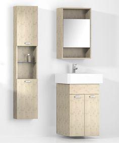 Floating Bathroom Storage Cabinets