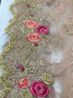 Sari border fine detail