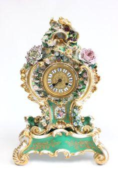 Jacob Petit porcelain clock