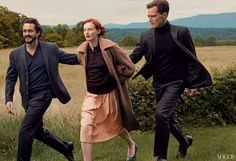The Other Man: Hugh Dancy, Karen Elson, and Michael Shannon in Fall Menswear Fashion — Vogue