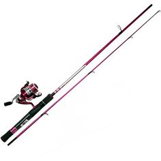 Zebco 30SPL/ZALS602ML Lady Fishing Rod and Reel Combo * Click on the image for additional details.
