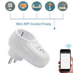183bad3f469 Sonoff S26 WiFi Smart Socket 10шт США   Великобританія   ЄС Бездротові  розетки живлення розетки Smart