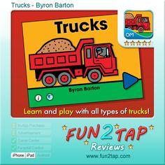 Trucks by Byron Barton.