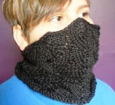knitted assassin cowl