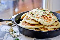 I fully admit it – I'm obsessed with naan. Are you unfamiliar with the traditional Indian flatbread? Well, first, know that it is awesome, a truly incontestable fact. That being settled…