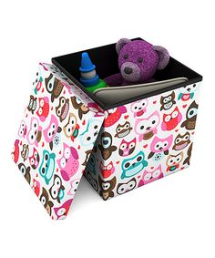 Look at this Owl Ottoman on #zulily today!