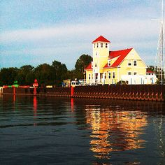 U.S. Coast Guard Station Muskegon, Michigan  Awww spent much time here with my daddy....