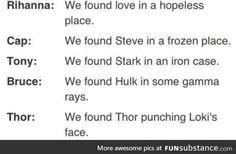 We found Love Avengers remix