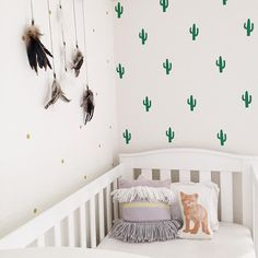 """@ministyleblog auf Instagram: """"We have cactus fever over here!  These removable decals from @onehundredpercentheart are so fun! Use code """"ministyle"""" and get 15% off everything!"""""""