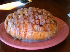 the HAPPY home: Cinnamon Roll Pull Apart Bread