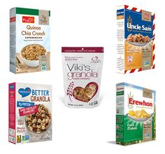 5 Top Organic Breakfast Cereals! @erewhonorganic @unclesamcereals @BarbarasBakery @peacecereal @Vikis_Granola http://ospa.me/1KVRMjF