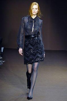 Andrew Gn Fall 2006 Ready-to-Wear Fashion Show - Fabiana Semprebom
