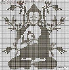 Buddha x-stitch