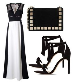 """""""Untitled #3079"""" by evalentina92 ❤ liked on Polyvore featuring BCBGMAXAZRIA, Alexandre Birman and Tomasini"""