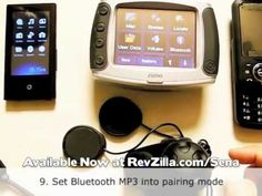 Sena SMH10 Pairing with Zumo 550 & Bluetooth Phone & MP3 Player