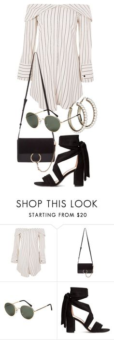 """""""Untitled #21963"""" by florencia95 ❤ liked on Polyvore featuring Topshop, Chloé and H&M"""