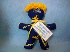 Cute!  West+Virginia+University+DammIt+SlamIt+Doll+WVU+by+pghpatchworkgal,+$8.99