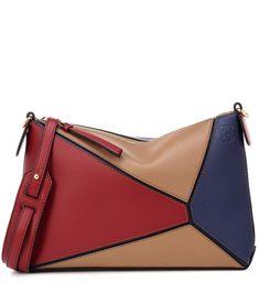 03ab48dfe Loewe - Puzzle Pochette leather shoulder bag | mytheresa.com Bolsos Cartera,  Carteras,