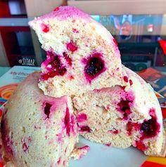 Low Carb Protein Berry Cake - super schnell und einfach