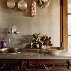 Une cuisine à l'ancienne