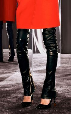 Love those zippers!    Tom Ford Fall/Winter 2012