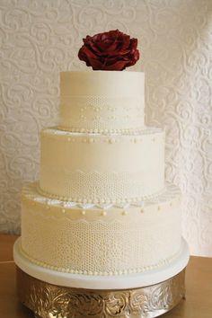 CassidyBudge.com | Lace Wedding