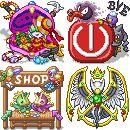 Pokémon Benutzermenü-Icons