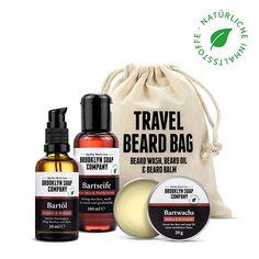 Brooklyn Soap Co. Beard Wash, Beard Oil, Brooklyn, Soap Company, The Balm, Perfect Beard, Face Hair, Full Beard, Peppermint