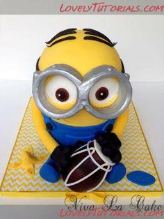 Die 49 Besten Bilder Von Minion Torten Birthday Cakes Minion