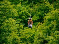 Lean back and enjoy the ride! With CLIMB Works in the Smoky Mountains